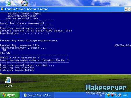 Counter-Strike 1.6 Server Creator.